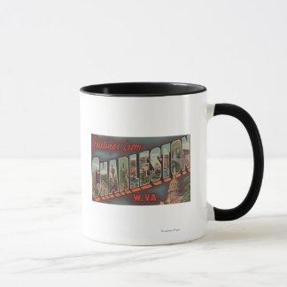 Mug Charleston, la Virginie Occidentale - grandes
