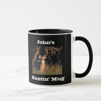 Mug Chasse nommée customisée par slogan drôle