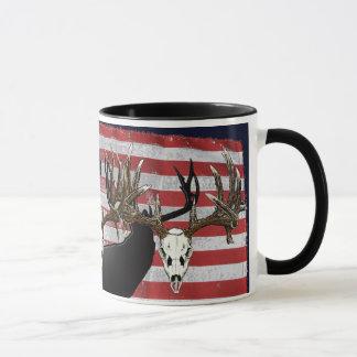 Mug Chasseur américain de cerfs communs