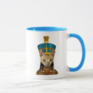 Mug Chat égyptien de la Reine