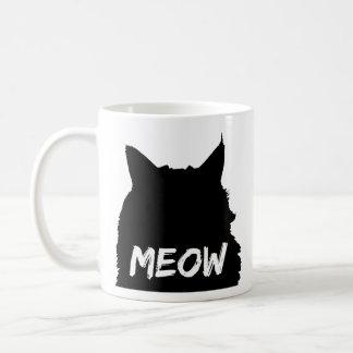 Mug Chat noir et blanc de Meow