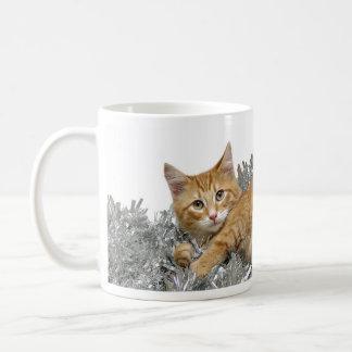 Mug Chat tigré de Noël