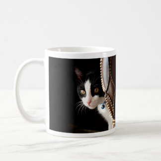 Mug Chaton noir et blanc