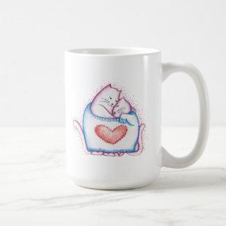 Mug Chats de sommeil