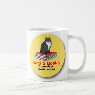 Mug Chats et livres… une combinaison de purrrfect
