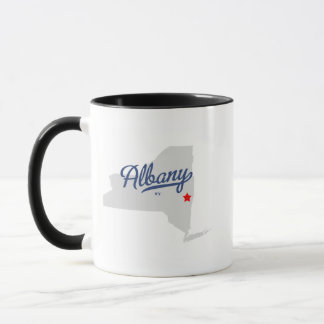 Mug Chemise d'Albany New York NY