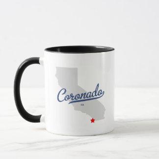 Mug Chemise de Coronado la Californie CA