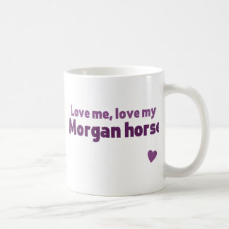 Mug Cheval de Morgan