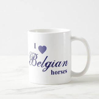 Mug Chevaux belges