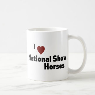 Mug Chevaux nationaux d'exposition