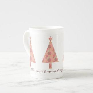 Mug Chic sophistiqué gracieux élégant d'arbre de Noël
