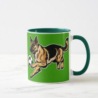 Mug chien de berger allemand