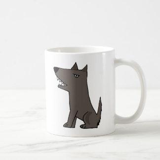 Mug Chien de garde gris drôle
