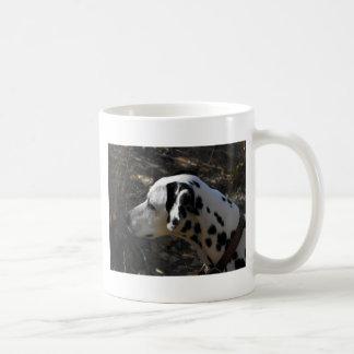 Mug Chien Portriate de Dalmation