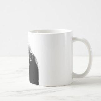 Mug Chimpanzé blanc noir