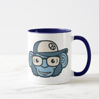 Mug Chimpanzé dans le bleu