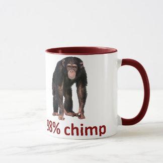 Mug chimpanzé de 98%