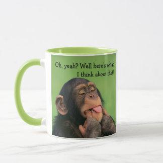 Mug Chimpanzé effronté