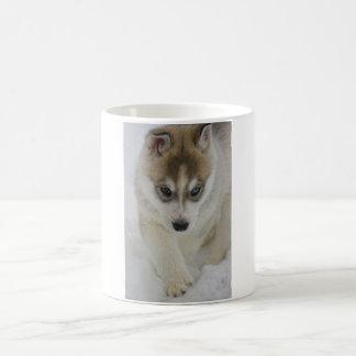 Mug Chiot de chien de traîneau sibérien