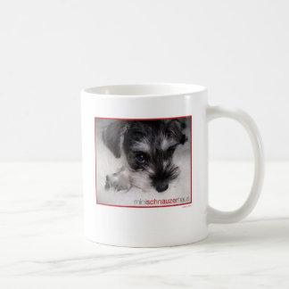 Mug Chiot de Schnauzer miniature
