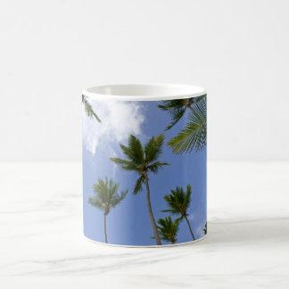 Mug Ciel bleu et palmiers
