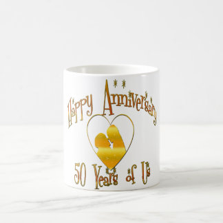 Mug cinquantième. Anniversaire
