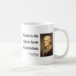 Mug Citation 15c de Thomas Jefferson