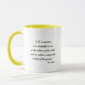 Mug Citation de jardin de Thomas Jefferson