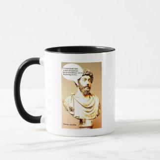 Mug Citation de MARCUS AURELIUS ; Ce n'est pas la mort