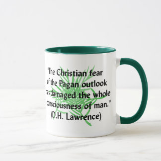 Mug Citation païenne de CAD Lawrence
