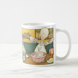 Mug Claude Baker - fabrication de la pâte