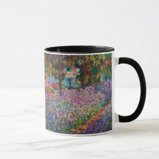 Mug Claude Monet - iris en beaux-arts du jardin de
