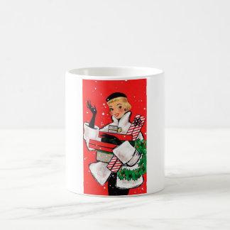 Mug Client de Noël d'années '50