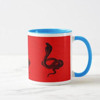 Mug Cobra égyptien sur la conception animale de cool