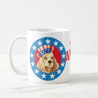 Mug Cocker patriotique
