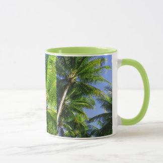 Mug Cocotiers hawaïens
