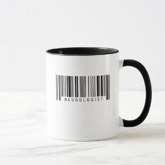 Mug Code barres de neurologue
