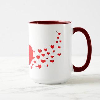 Mug Coeur dans des ailes