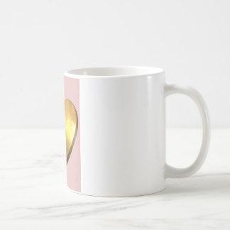 Mug Coeur de palmier d'or