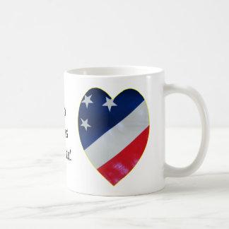 Mug Coeur de patriote