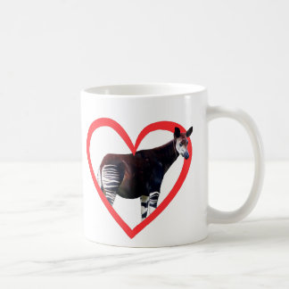 Mug Coeur d'okapi