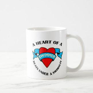 Mug Coeur d'un nageur
