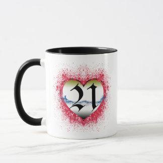 Mug Coeur gothique 21ème