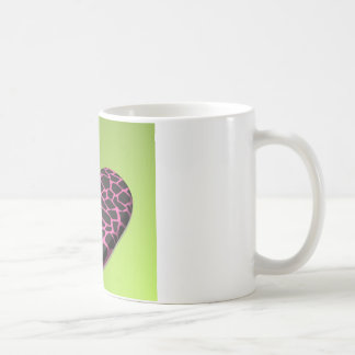 Mug Coeur rose de girafe