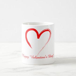 Mug Coeur rouge