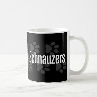 Mug (Coeur) Schnauzers I miniatures