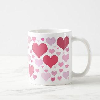 Mug Coeurs de Valentines en abondance
