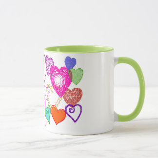 Mug Coeurs en abondance