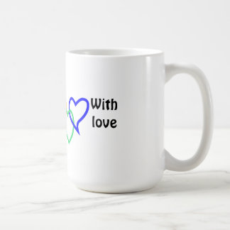 Mug Coeurs entrelacés