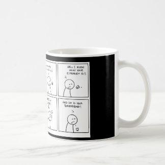 Mug coffemug, cigarettes et café : un alcoolique…